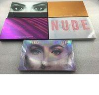 Palette di trucco oro rosa Cosmetici Pemasterd Eyeshadow Palette Eye Trucco Kit Eye Cosmetici per Ragazza Adolescenti 18 Colore