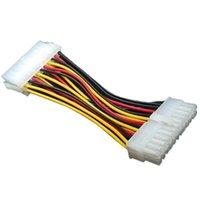 컴퓨터 섀시 20pin 남성 24 핀 여성 전원 어댑터 케이블 20P ~ 24P 마더 보드 전원 공급 장치 케이블 ATX 커넥터