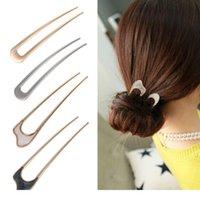 Kadın Kızlar Japon Tarzı Metal Alaşım U-Şekli Saç Klip Vintage Saç Kadınlar Için Saç Sopa Bayan Hairpin Bun Aracı Wmteuy