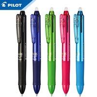 1 pcs piloto multifuncional caneta apagável lkfb-60EF / 60UF três cores 0.5mm / 0.38mm gel caneta resistente ao desgaste