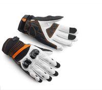 Nuevos ventiladores de motocicletas Racing Guantes de fibra de carbono Motorcycle Midsing Gloves anti-caídas transpirables