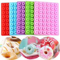 DIY Çörek Makinesi 48 Delik Yapışmaz Pişirme Pasta Çerez Çikolata Kalıp Muffin Kek Kalıp Tatlı Dekorasyon Araçları GGGE3536-3
