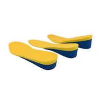 2-4 cm AUMENTO AUMENTO INSOLUCIÓN Cojín Levantamiento ajustable Corte de zapatillas Talón de zapatillas Inserte TALLER Mujeres Hombres Unisex Calidad Pastillas de pie