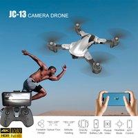 Ahoha RC Quadcopter 4K / 1080P HD камера Дрон Wi-Fi FPV Дрон оптического потока позиционирование Dron Высота удерживает четырекоптер вертолет LJ200908