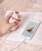 Portable USB Charging Trésor Trésor Warmer Réchauffeur rapide Charge Mobile Power Power Main Fille Deer Cute Pet