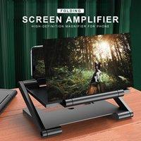 3D HD Mobiltelefon-Bildschirmverstärker mit Vergrößerung Falttelefon-Schreibtisch-Halter für 4,0-6,0-Zoll-Filmspiel-Handy-Verstärker