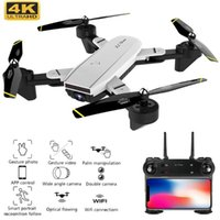 Best 4K Drone с камерой 1080p 50x Zoom Professional FPV Wi-Fi RC Дроны Высота Высота Auto Return Dron Quadcopter RC вертолет