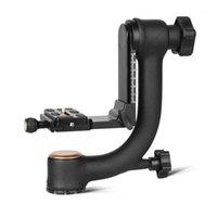 Treppiede Teste Professional Camera Testa Gimbal per grande capacità di carico Telepo Lente 1/4 Vite 48mm Diameter1