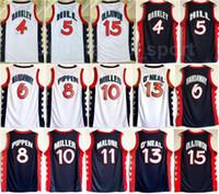 Dream trois 1996 US Basketball Jerseys 4 Charles Barkley Penny 6 Hardaway 15 Hakeem Olajuwon 8 Scottie Pippen Grant Hill Reggie Miller
