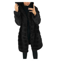 Top Selling 2020 Womens Faux-Fur 'Gilet Manica lunga Gilet Gilet Body Warmer Giacca Cappotto Outwear Supporto all'ingrosso e Dropshipping LJ201203