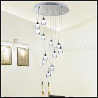 Modern LED Pendant Lights Fashion Pendant Lamps Indoor Home Decoration Lighting Stairs light Warm White Cool White Pendant Light