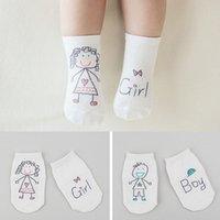 Hot 15 estilos bebé moda calcetines de algodón recién nacido infante niño piso antideslizante calcetines chicas niños calcetines DHBE3127