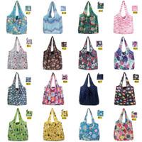 Складная сумка для покупок Полиэстер Рантуя многоразовая экологически чистая сумка для складной сумки для хранения мешков IIF19