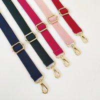 Mode DIY Bag Strap Für Frauen Umhängetasche Kleiderbügel Farbige Gürteltasche Gurtzubehör Verstellbarer Regenbogen Handtasche Riemen 125 * 2,5 cm