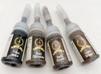 Yeni Varış 5SETS 4 Şeritler / Set Dövme Mürekkep Pigment Kaş Dövme Kalıcı Makyaj için 3 ML