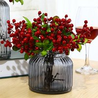 Pack Of 10 Lucky Fruit Artificial Flowers Home Decor Dried Flower Wedding Decor