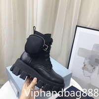 2021 женские дизайнеры Rois Boots Lokle Neynon ботинок ботинок и сапоги Martin дизайнеры зимний Мартин лодыжка нейлон бичек прикрепленный лодыжку с коробкой