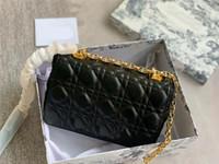 2021 novo designer mulheres luxo sacos caro diamante lattice liga de liga fivela crossbody sacos de ouro correntes oval bolsas bolsas bolsas bolsas bolsa #