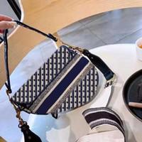 2020 Yeni Lüks Ünlü Marka Bayanlar Çanta Retro Yüksek Kaliteli Messenger Çanta Çanta Yıldız Ünlü İlham Nakış Omuz Çantası