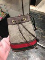 550621 Ophidia Nano Mini Handtaschen Messenger Schulter Crossbody Tasche Leder Rindsbörse Geldbörse Umhängetasche Kupplung