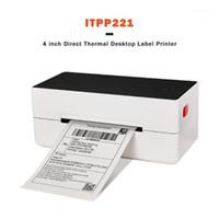 issyzonepos 레이블 바코드 프린터 4 인치 4 인치 4 × 6 라벨 USB 열 종이 인쇄 배송 익스프레스 Lable Printer1