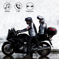 Mode BT-S3 1000m Motorrad BT Bluetooth Interphone Motorrad Helm Wireless Intercom FM Headset Portable Mini Interphone1