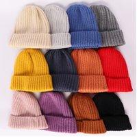 Moda donna cappelli invernali cappelli a maglia carino cranio caldo skull styly tryted cap tappo all'aperto signora viaggio ski willie cap yhm183-1
