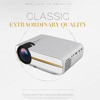 YG400 Mini Taşınabilir LED Projektör 1000Lümen 800 * 480 DPI LCD Homeater Projektör Desteği 1080 P Proyector HDM VGA USB Projektör
