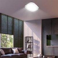 85-265V LED-Deckenleuchte Quadratische Formleuchten Wohnzimmer Schlafzimmerlampe stufenlos Dimmen (18W) Hohe helle Premium-Lichter