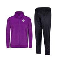 2021 Монпелье HSC Новый стиль футбольный мужской куртка с брюками спортивная одежда футбольный трексуит взрослых детей одежда