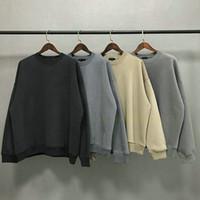 2021 Sweat à capuche classique HIP HOP HOP Sweatshirts Sweats-Sweaters Casual Vintage lavé surdimensionné Sweat à capuche Hommes HiPhop Streetwear manteau