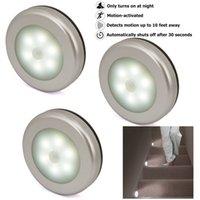 LED أضواء جسم الإنسان مصباح التعريفي ممر الجدار أضواء الليل دائري أبيض وأصفر ألوان سهلة تثبيت ذكي الاستشعار 8 5JX N2