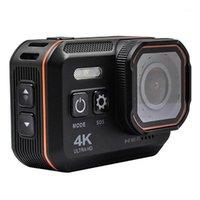 Action sportive Vidéo Caméras Multifonctionnel 4K SOS SOS WiFi Record WDR étanche Sport extérieur Vlog Vlog Carnet de caméra HD Caméscope avec