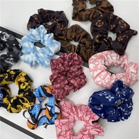 Classic Floral Letter Hairband Fashion Rubber Band Stylish P...