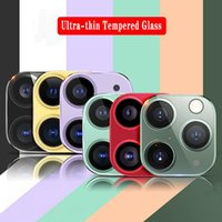 الزجاج المقسى عدسة حامي ل iphone11 برو ماكس كاميرا الهاتف فيلم واقية الزجاج مع صندوق البيع بالتجزئة