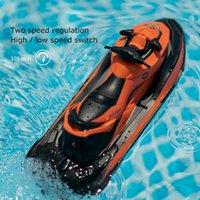 TJ 2.4G 4CH Mini RC Высокоскоростной дрейф мотоцикл мотоцикл автомобиль с легкими детьми робот мотоцикл игрушки дистанционного управления лодка