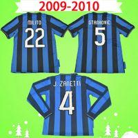 Inter Milan soccer jersey Милито Х. Дзанетти финал STANHOVIC 2010 ретро футбол Джерси футбол рубашка Виейра классический старинные Куарежма, Снейдер, Мотта розовой да бьет