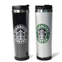 Чашки Starbucks Стили из нержавеющей стали Кружка из нержавеющей стали Гибкие чашки Кубок чашки чашки чайные чайные кружки 420 мл / 14 унций