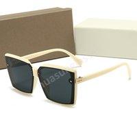 Dior Femmes Sunglasses Sunglasses Marque Designer Oculos de Sol Vantage Big Cadre Visage Visage Extérieur Men Sports Revêtement de sport Eyewear Gafas de Sol Masculino et W9