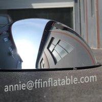 Popular 1/4 espelho esférico para cúpula 60cmx30cm Projecor plano inflável planetário cúpula espelho esférico cinema home theater tenda homeuse novo