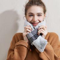 Kış Sıcak Eşarp Isıtmalı Eşarp USB Kadınlar Isıtma Eşarp Çift 3 Modu Ajustable Atkısı Peluş Yaka Atkılar DDA836