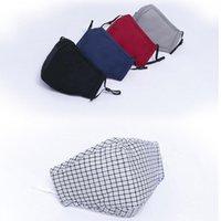 Maschere del designer lavabile riutilizzabile della FA protettivo riutilizzabile il pacchetto individuale della maschera del cotone antipolvere in magazzino
