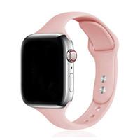 Silikonband für Apple-Uhr-Band 44mm / 40mm IWATCH-Band Serie 6 SE 5 4 3 2 1