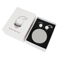 TWS X12 5.0 المحمولة wirelessbluetooth سماعة الصيغة تخفيض الضوضاء سماعة النوم البسيطة الأسود والأبيض مضخم صوت الهاتف سماعة