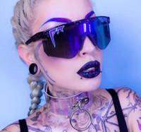 Sommermann Pit Viper Sonnenbrille Reiten Gläser. Frauen, die windgläser männliche mode radfahren glas 6colors einteilsobjektiv uv400 freies schiff
