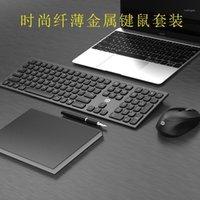 Keyboard Souris Combos Fuld IK8900 Wireless et Set pour Home Office Utilisez un ordinateur portable Smart TV 2.4G1