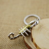 Ringschlüssel Skorpion Hohe Qualität Modell Keychain Kette SleutelHanger LLaveros Hombre Creative Chaveiro Portachiavi Souvenir