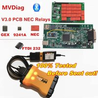 أدوات قارئ الكود أدوات المسح OBDIICAT MultiTiag Pro MVDiag SW 2021.00 Bluetooth V3.0 PCB TCS 2021.r0 / W0W 5.00.18 / 2021.1 MVD Tool Tool1