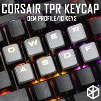 Oyun KeyCap Set Keycaps Kiraz MX Uyumlu OEM Profil Parlatıcı 10 KeyCaps Wasd QWER LJ200922