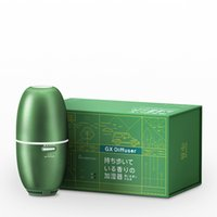 USB Ultrasonic Air Humidifier Polypropylene Aluminum Alloy Packaging Fragrance Essential Oil Diffuser Car Home Office Use